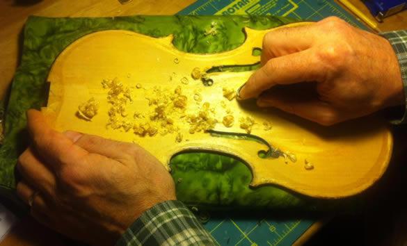 Regraduating the top plate